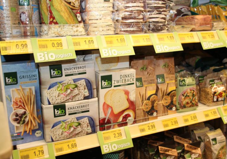 Bio- und vegane Produke