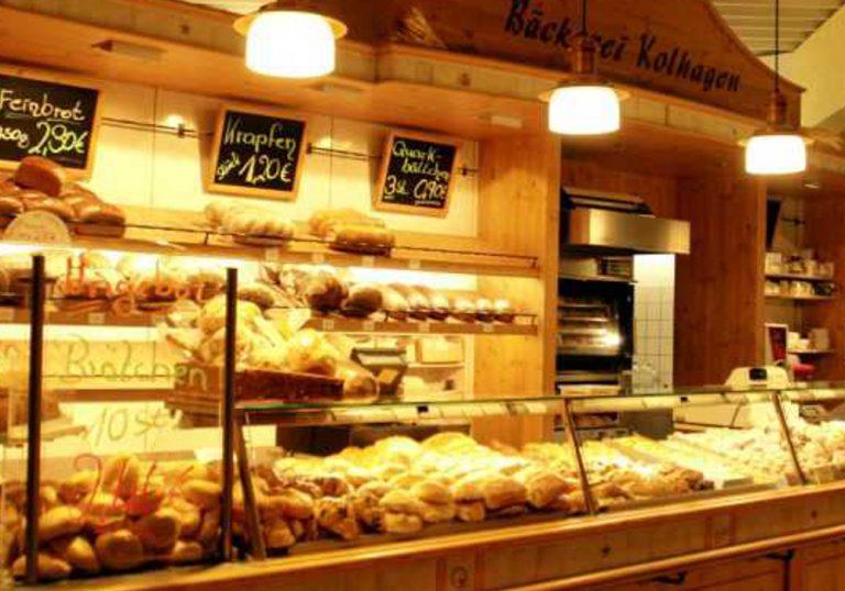 Bäckerei Kohlhagen im Eingangsbereich