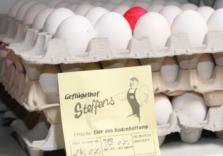 Eier aus der Region