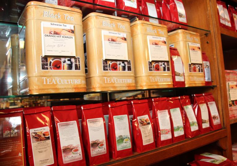 Große Teeauswahl