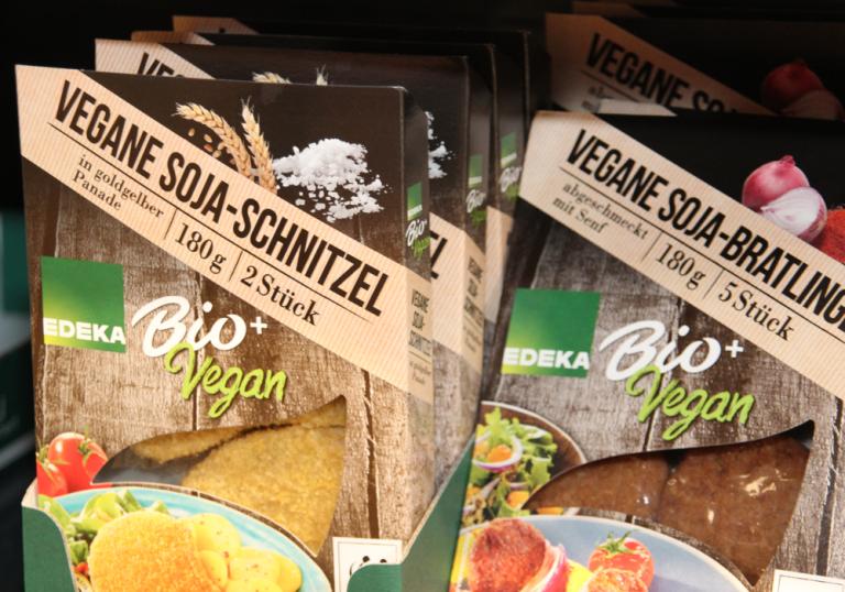 Bio und vegane Produkte