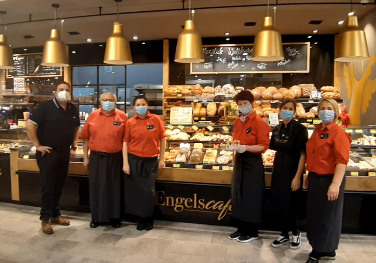 Das Team der Engelsbäckerei