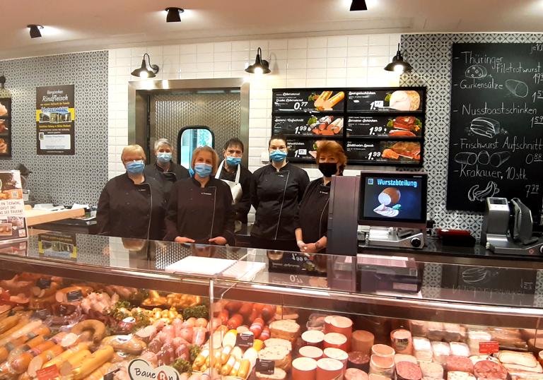 Mitarbeiter unserer Fleischfachabteilung